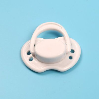 Magnetic Dummy White Pacifier For Reborn Baby Internal Magnet Dolls Accessories