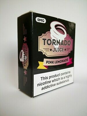Tornado Pink Lemonade 3 x 10ml TPD compliant eliquid vape juice 70/30 PG/VG