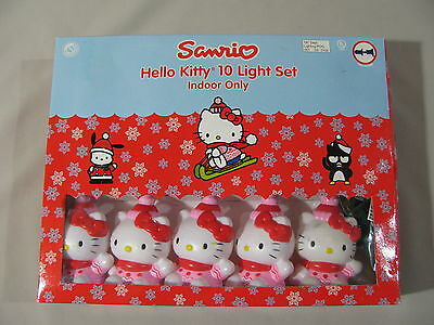 Hello Kitty Light Set by Sanrio Co. New Indoor Only Vintage 2001 7.5 Foot Long