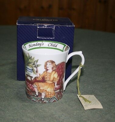 Queens China Firday's Child Mug - New in Box