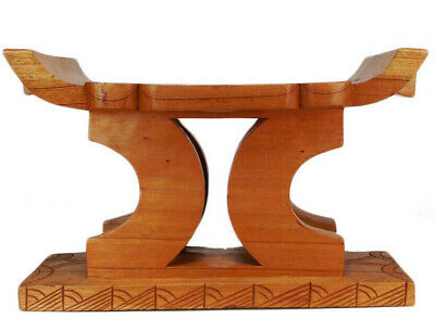Massiv Holz Original Afrika Akan Hocker Stuhl  Sitzmöbel Chair Stool