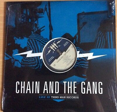 """Chain And The Gang Live At Third Man Vinyl 12"""" Third Man Records New Mint Sealed"""