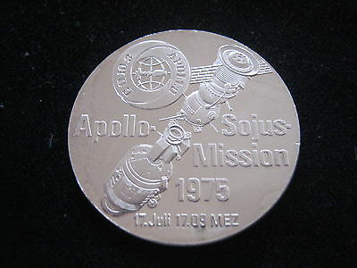 "Mds Feinsilbermedaille ""apollo - Sojus - Mission 1975""   #7"