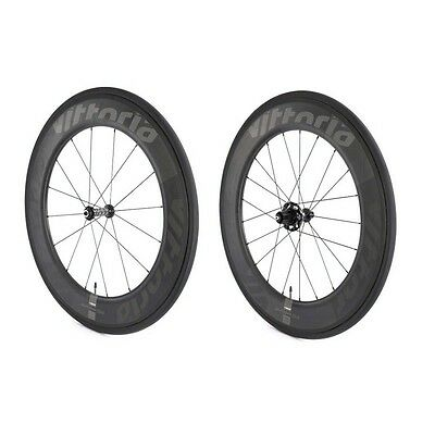 Vittoria Qurano 84 tubular wheels Shimano freehub body