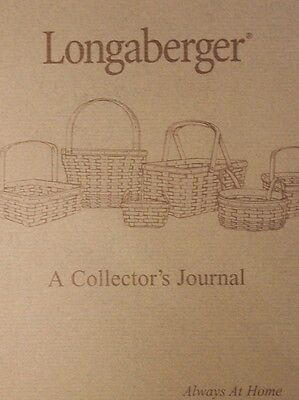 LONGABERGER A Collector's Journal / Spiral 2001 Edition - Unused
