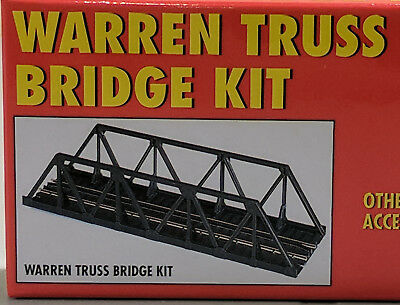 "HO Atlas #883 - 9"" Warren Truss Bridge Kit - Code 100"