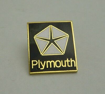 Plymouth Lapel, Hat Pin (Black and Gold)