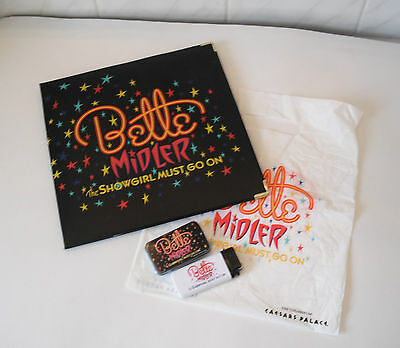 Bette Midler The Showgirl Must Go On Souvenir Mints, Lighter and Picture Frame