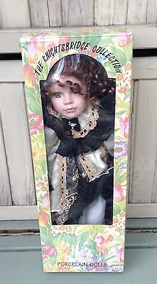 "Rare Rachel porcelain doll -The Knightsbridge collection- 18"" collectors doll"