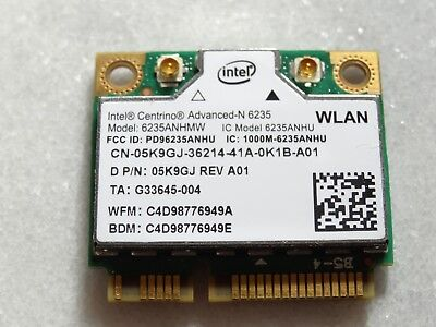 Intel Advanced-N 6235 300Mbps Mini PCIE Wireless WLAN WiFi Card 6235ANHMW - W012