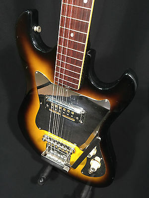 Vintage 60's Audition electric guitar, single gold foil pickup, Made in Japan