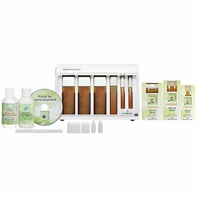 Clean + Easy Professional Waxing Spa Basic Kit, 22 Count