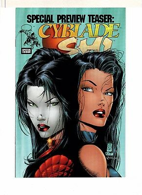 Cyblade Shi Special Preview Teaser 8.0 Very Fine! First Witchblade!