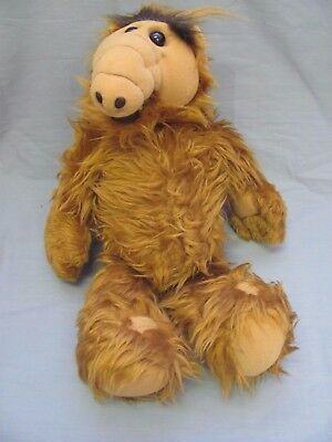 "Vintage ALF Plush Gordon Shumway Alien Life Form 1986 Large 18"" Stuffed Stuffy"