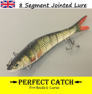 Hard Multi Jointed Lure Lifelike Fishing Bait Swimbait Crank Pike TRY IT NOW