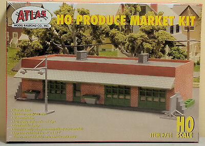 HO Atlas #761 - Produce/Flea Market Kit