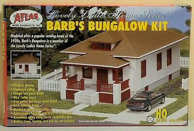 HO Atlas #712 - Barb's Bungalow House Kit