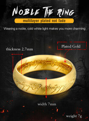 High Quality New Lord Of The Rings Ring (The one ring)