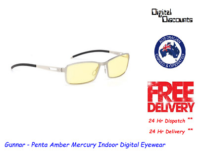 Gunnar - Penta Amber Mercury Indoor Digital Eyewear
