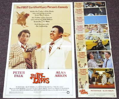 The In-Laws One Sheet 1SH Movie Poster Lobby Card Set 8 Alan Arkin Peter Falk