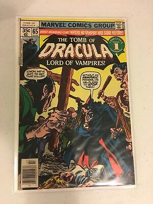 Tomb of Dracula #65~ (Marvel 1972) Silver Age~Lord of Vampires! ~Halloween Comic
