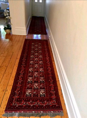 Certified Hand Woven Persian Rug/Hall Runners (283x86cm)