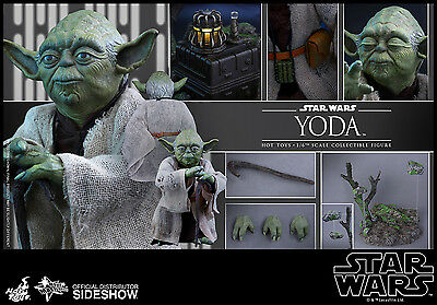 Hot Toys Star Wars Episode V The Empire Strikes Back Yoda Action Figure MMS369