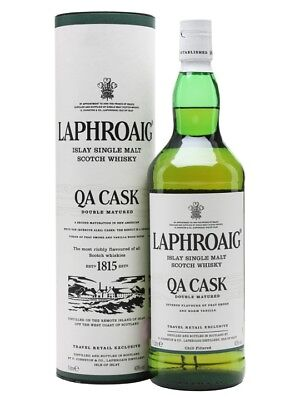 Laphroaig QA Cask Double Matured Single Malt Scotch Whisky BIG 1000ml Duty Free