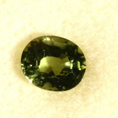Natural earth-mined green tourmaline gemstone...1.74 carats