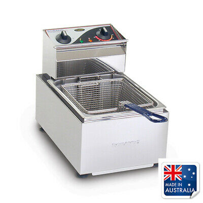 Benchtop Fryer / Deep Fryer 5L Single 10amp Roband F15 Chips & Fries