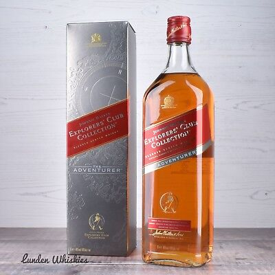 Johnnie Walker Explorers Club Collection The Adventurer Scotch Whisky 1000ml!