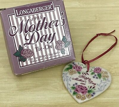Longaberger Mother's Day 1995 Tie-on
