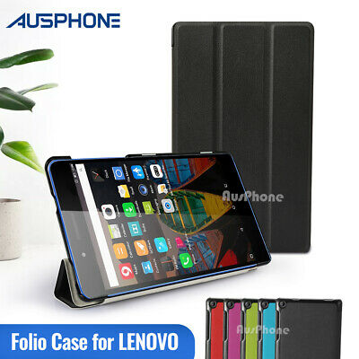 "Smart Magnetic Stand Leather Case Cover for Lenovo Tab 3 7"" A7-10 Tab Essential"