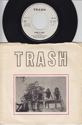 TRASH * 1973 Dutch Heavy GLAM BONEHEAD Private 45 * Listen!