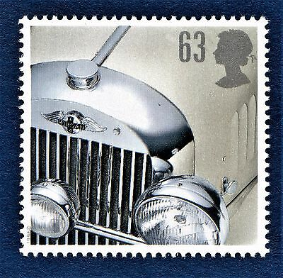 GB Classic Cars Morgan Plus 4 on a stamp Unmounted Mint