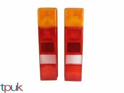 Transit Chassis Tipper Rear Lamp Light Lens Pair (2) Brand New