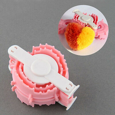 Heart-shaped Small Essential Kid's Clothing Knitting Loom Yarn Pom Pom Maker