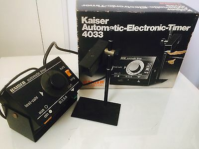 Kaiser Automatic Electronic Timer 4033 Photography