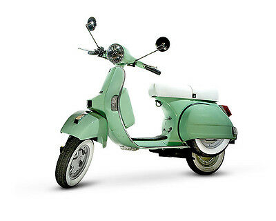 LML Star 4T 125cc Auto - Mint Green