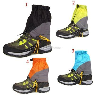 Waterproof Walking Feet Cover Gators Boot Hiking Climbing  Snow Leggings Gaiters