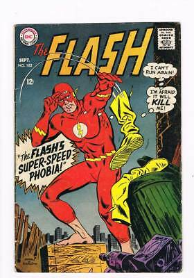 Flash # 182 Thief Who Stole All the Money in Central City ! grade 4.0 scarce !!