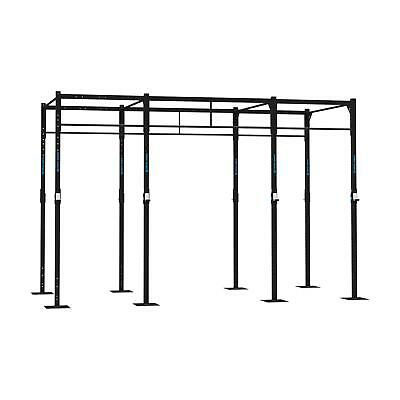 Power Rack Rig Base 4 Stazioni Squat 8 Pu Crosstrain Cross Training Box Fitness