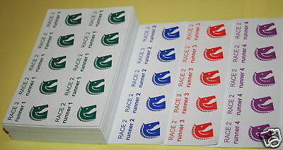 Race Night Betting Tickets (2560) for up to 120 guests.