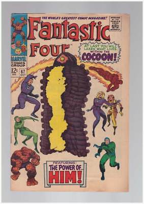 Fantastic Four # 67 When Opens the Cocoon  grade 6.5 scarce book !!