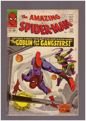 Amazing Spider-Man # 23  The Goblin & the Gangsters   !  grade 7.5 scarce book !