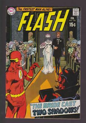 Flash # 194 The Bride Cast Two Shadows ! grade 8.0 scarce book !!