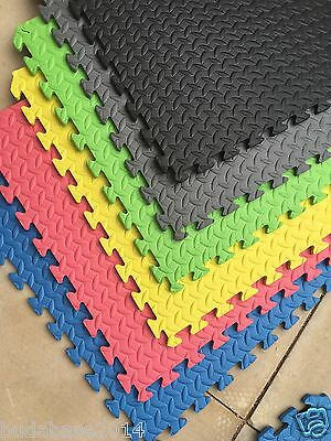 60cm*60cm SOFT CUSHION INTERLOCKING FOAM FLOOR EVA MATS YOGA HOME GYM TRAIN