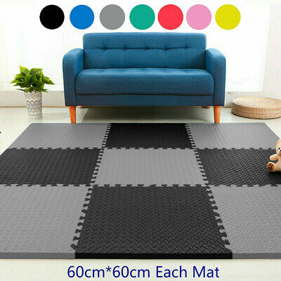 60cmx60cm Interlocking Eva Mats Home Gym Floor Kids Caravans Floor Tiles