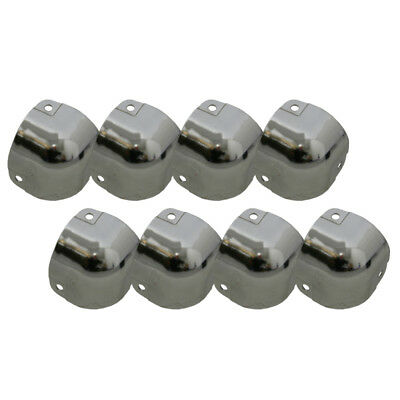 Pack of 8 Large Standard Metal Protective Case Corner Piece