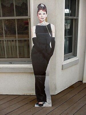 Life Size Audrey Hepburn Breakfast At Tiffanys Standup for Academy Awards Party